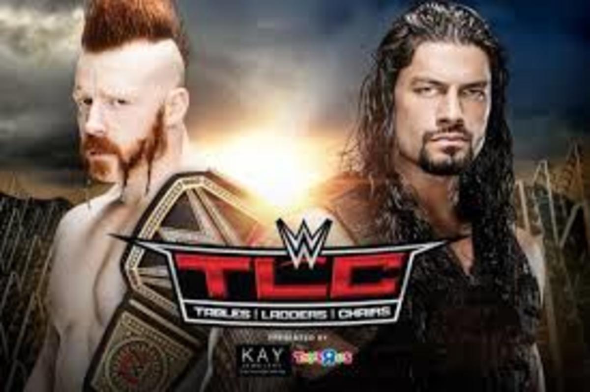 WWE TLC PPV, Sheamus vs. Reigns, Owens vs. Ambrose, Charlotte vs. Paige