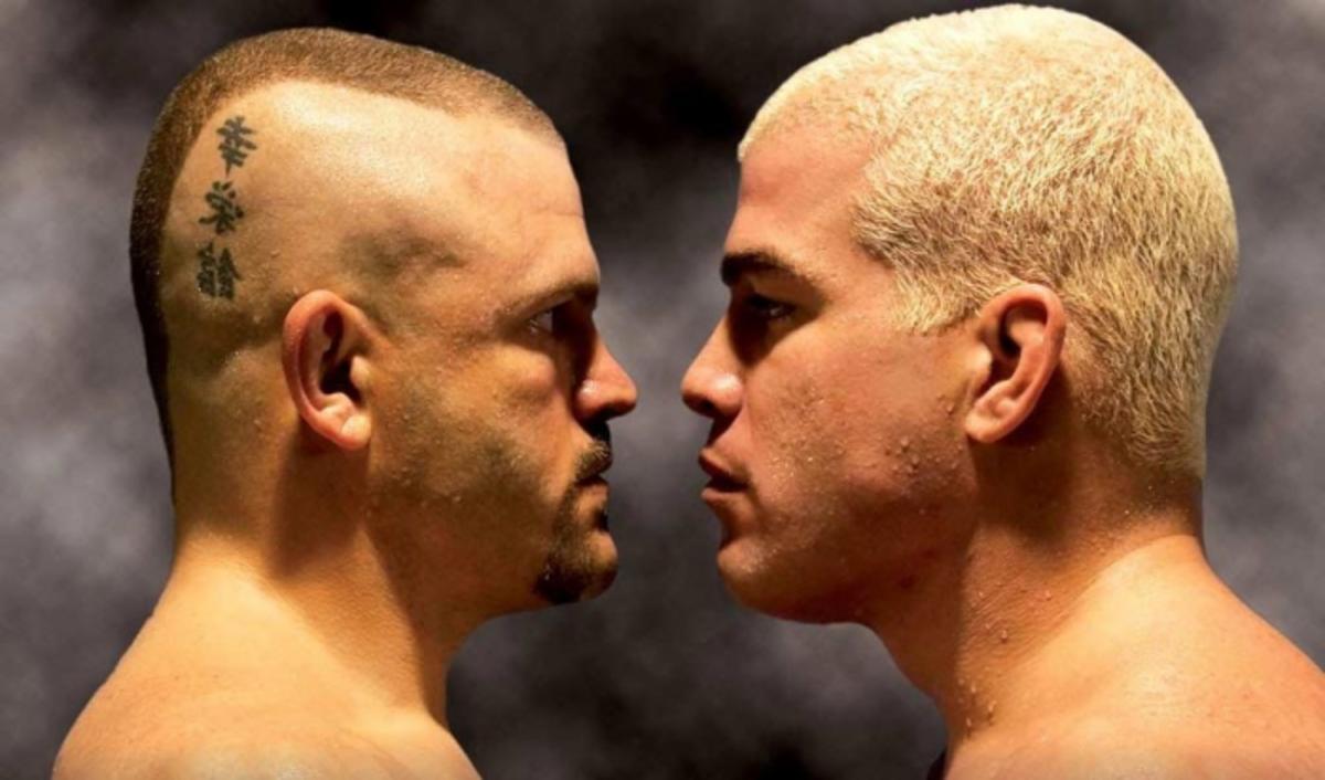 Chuck Liddell vs  Tito Ortiz III official for Oscar De La