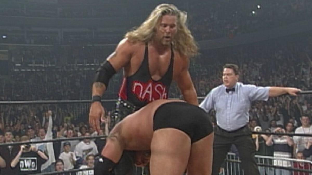 Kevin Nash vs. Goldberg Starrcade