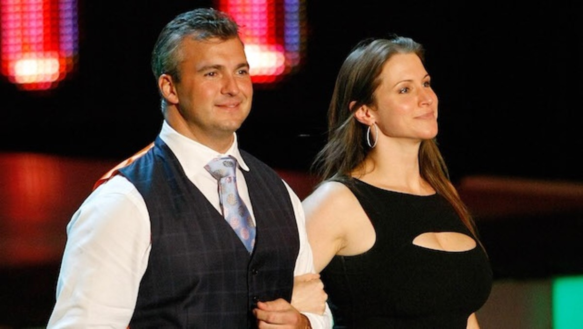 Shane and Steph McMahon