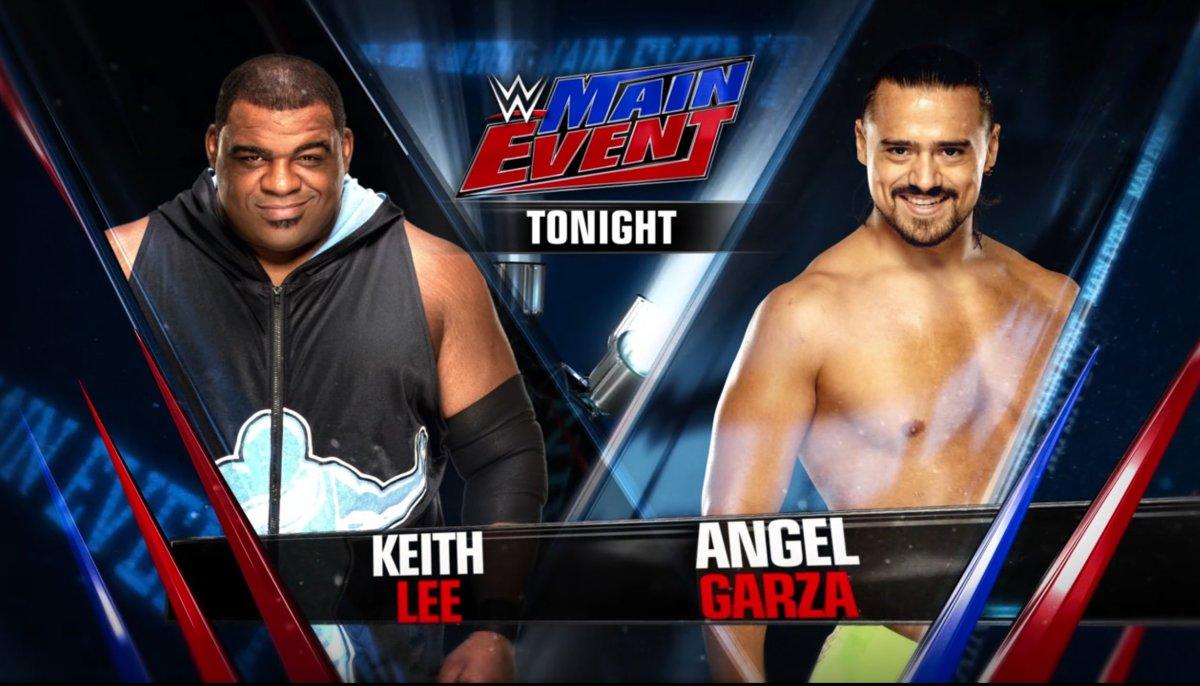Keith Lee vs. Angel Garza