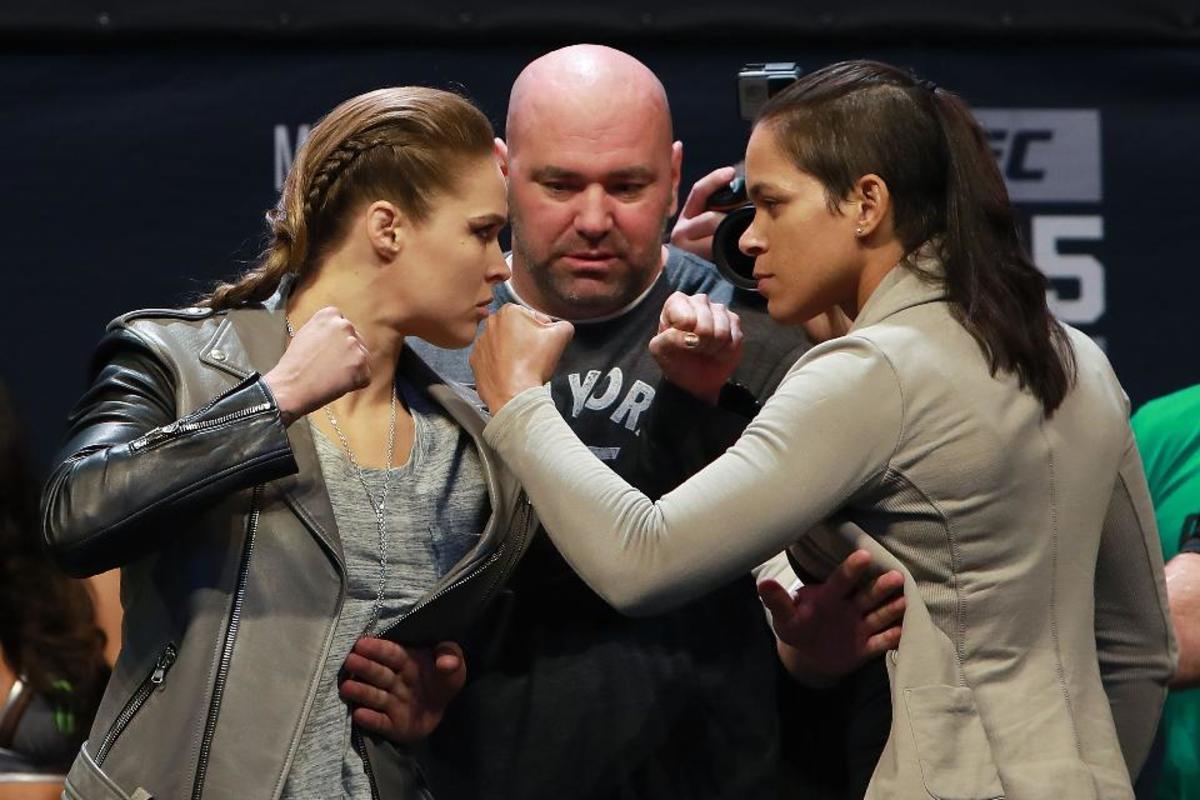 Ronda Rousey vs. Amanda Nunes