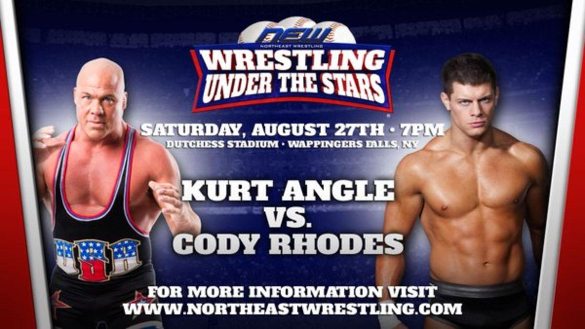 Kurt Angle vs. Cody Rhodes