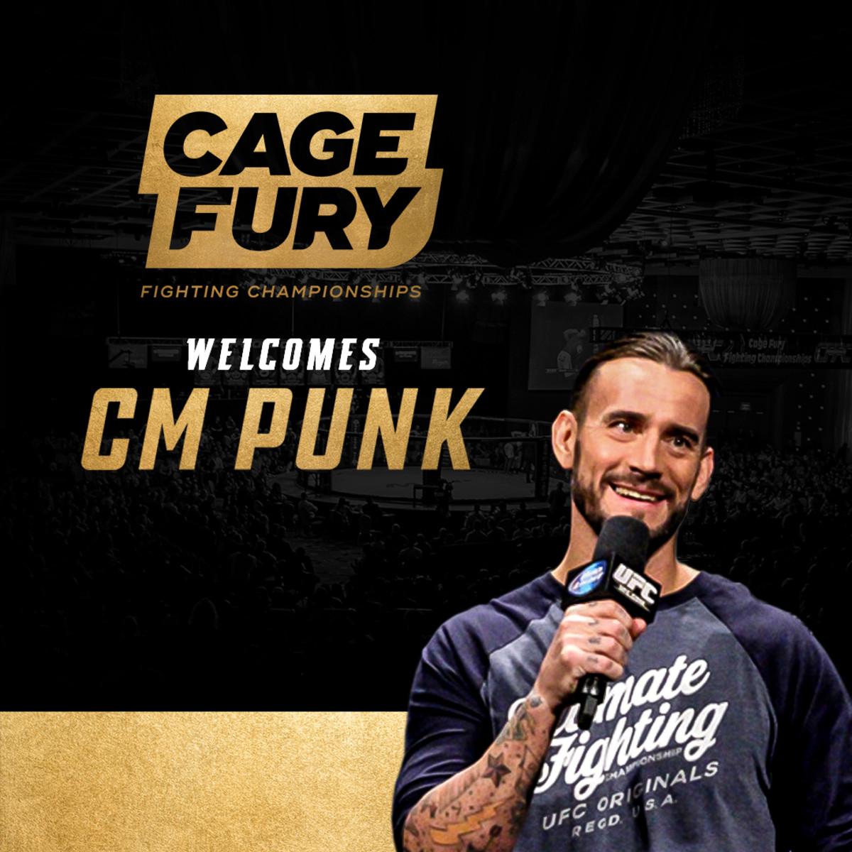 CM Punk / Cage Fury