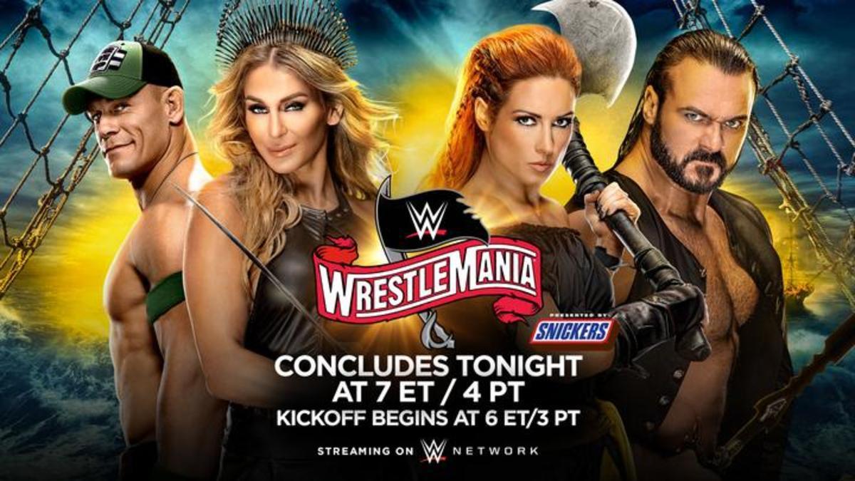 WWE WrestleMania 36 Sunday live results: Lesnar vs. McIntyre - Figure Four Online