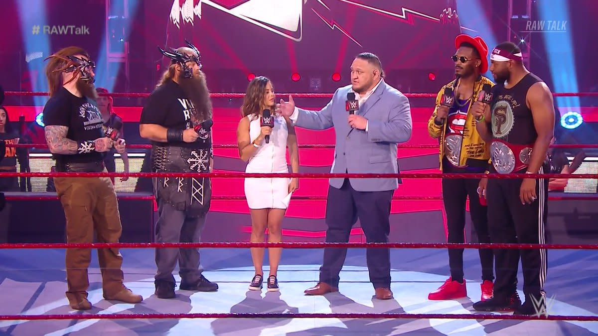 Street Profits-Viking Raiders decathlon set for WWE Raw