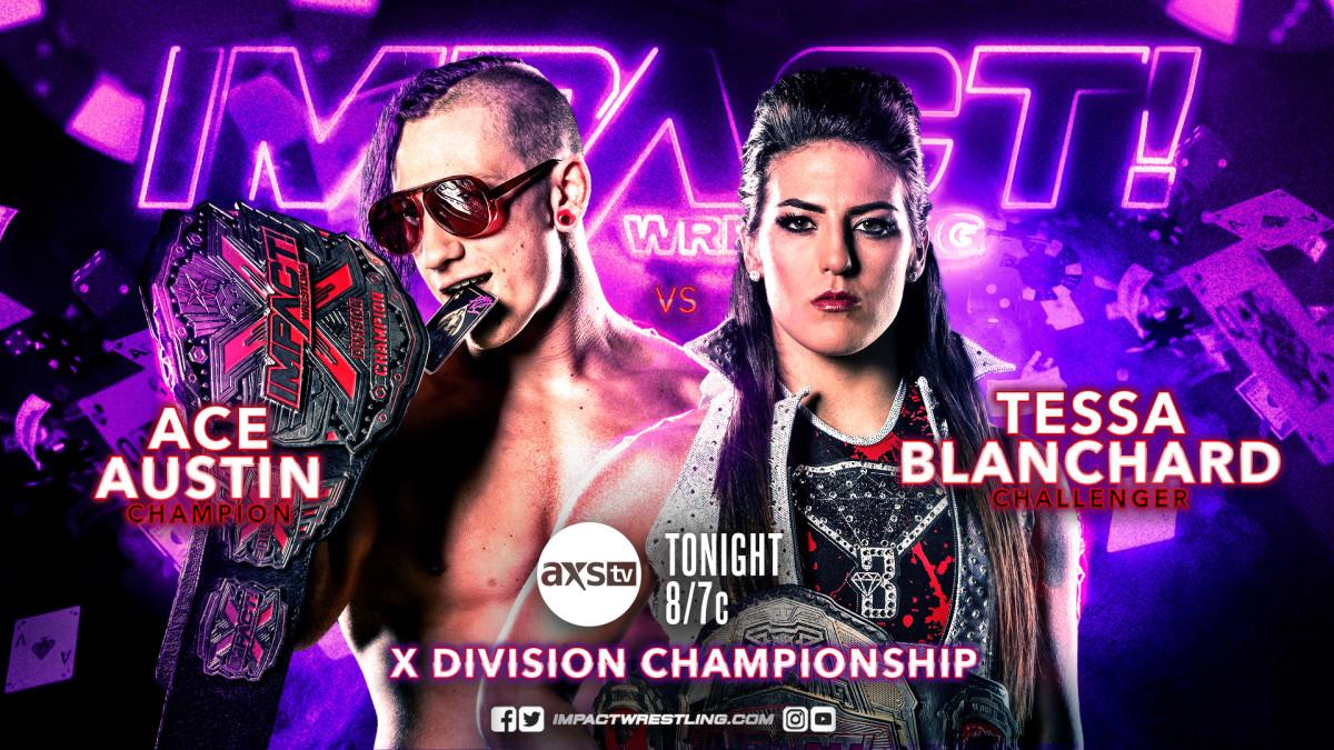 Impact Wrestling results: Ace Austin vs Tessa Blanchard