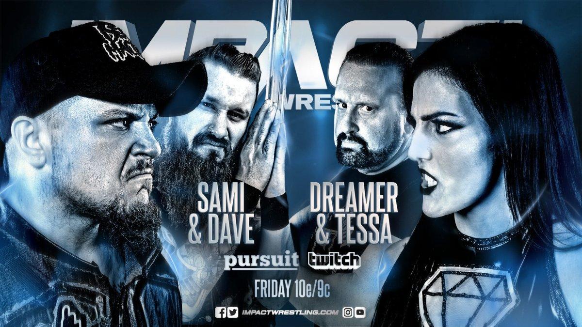 Impact Wrestling results: Callihan & Dave Crist vs Dreamer & Tessa