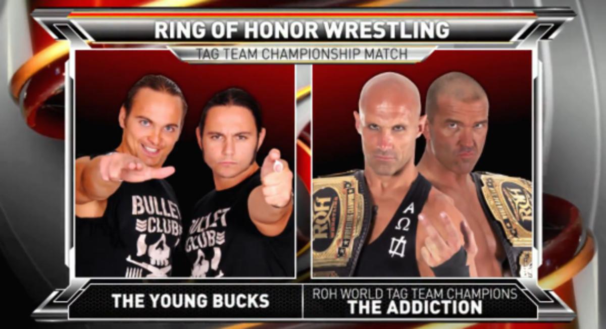 Young Bucks vs Addiction