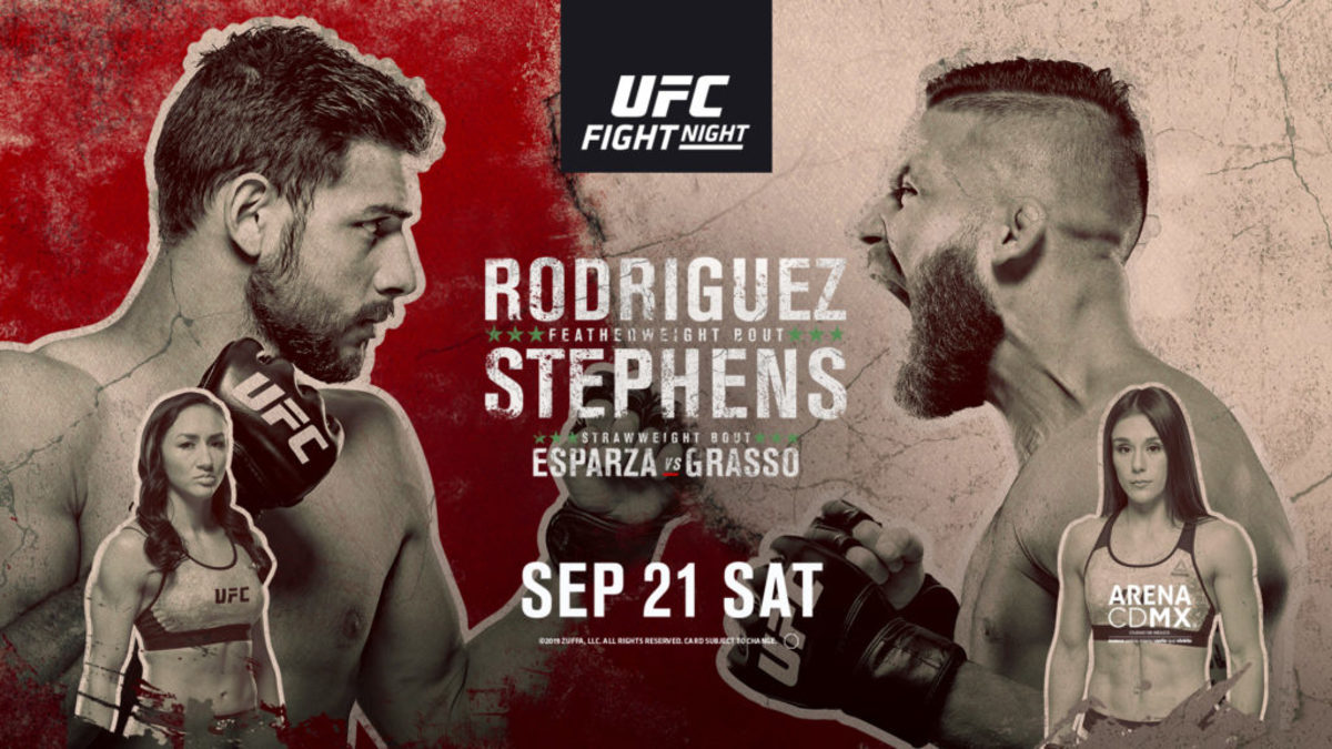 UFC on ESPN+ 17 live results: Yair Rodriguez vs. Jeremy Stephens - Figure Four Online