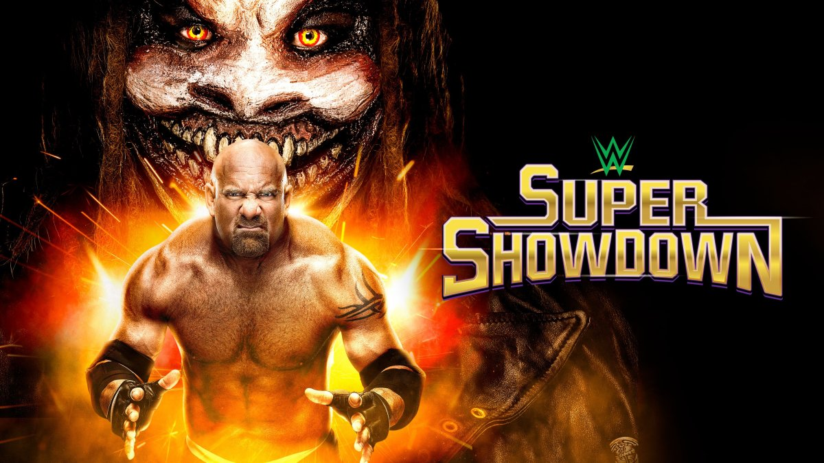 WWE Super ShowDown live results: The Fiend vs. Goldberg