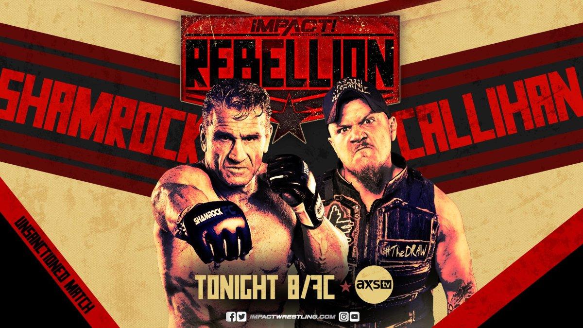 Impact Wrestling Rebellion Night One Results