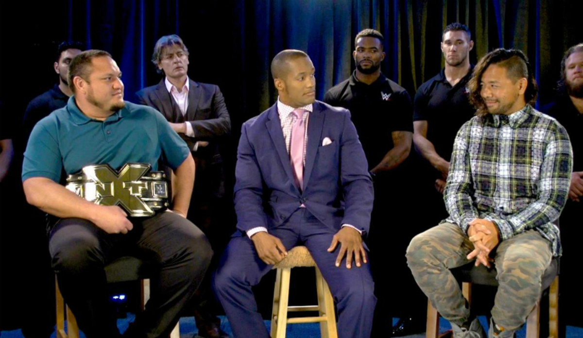 NXT TakeOver: Samoa Joe vs. Nakamura