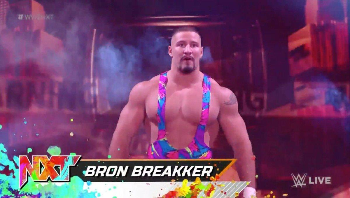 Bronson Rechsteiner makes WWE NXT debut, defeats LA Knight