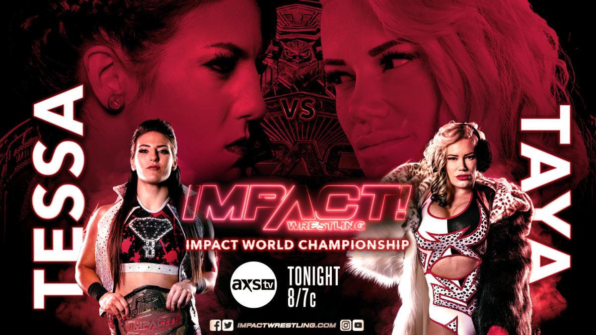 Impact Wrestling results: Tessa Blanchard vs Taya Valkyrie