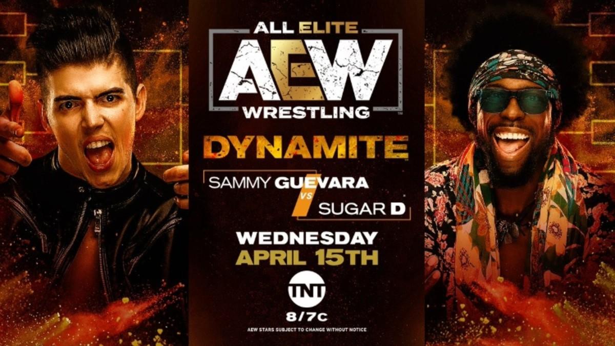 Sammy Guevara-Sugar Dunkerton announced for AEW Dynamite (f4wonline.com)