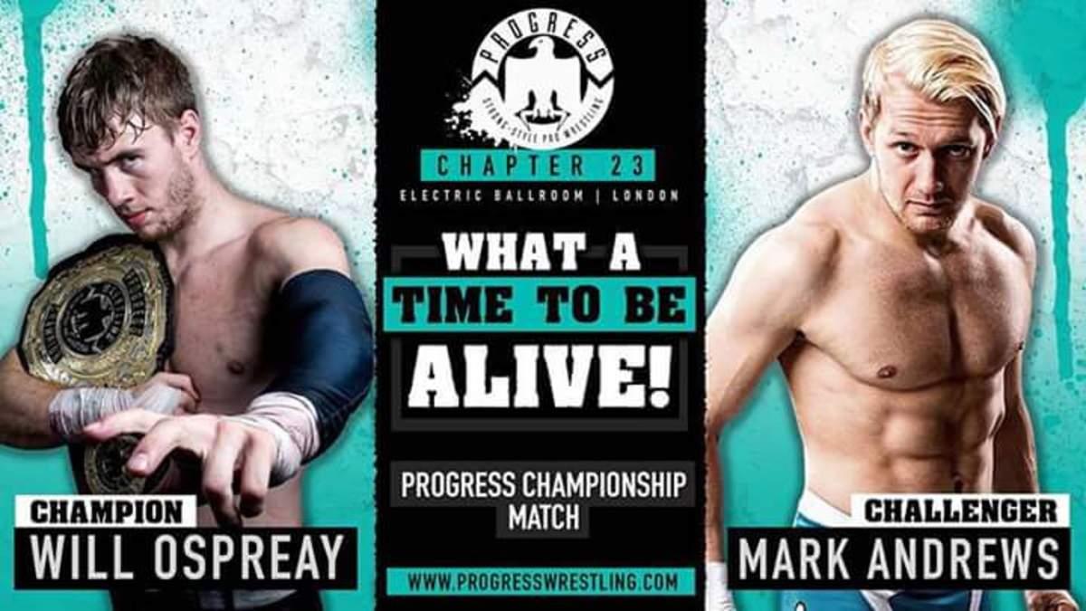 Will Ospreay vs. Mark Andrews