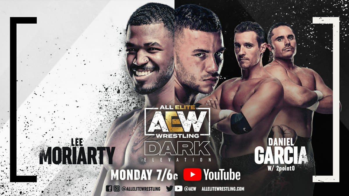 Daniel Garcia vs. Lee Moriarty set for AEW Dark: Elevation