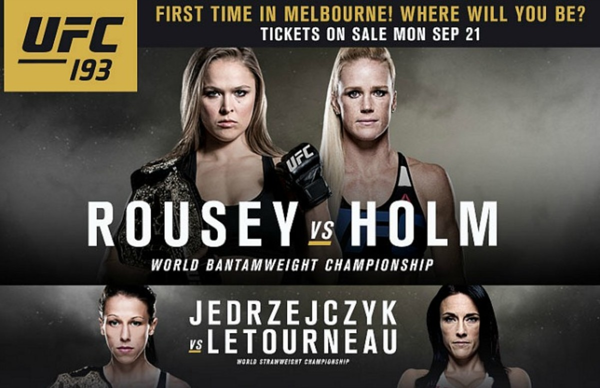 UFC 193 Ronda Rousey vs. Holly...