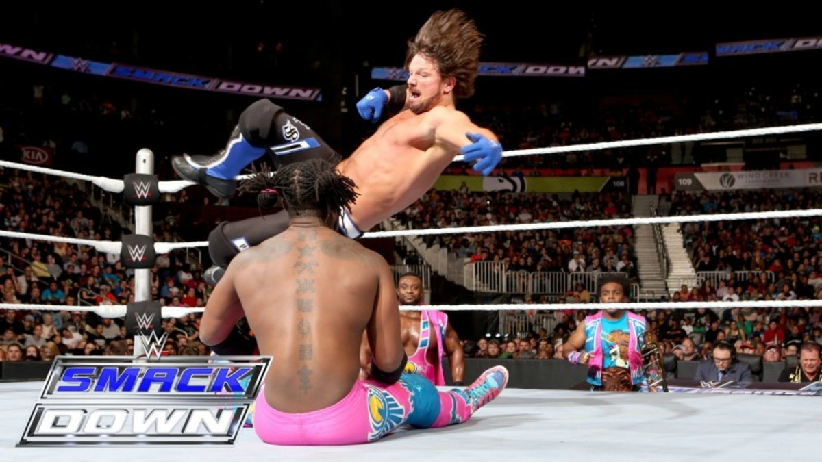 AJ Styles vs. Kofi Kingston