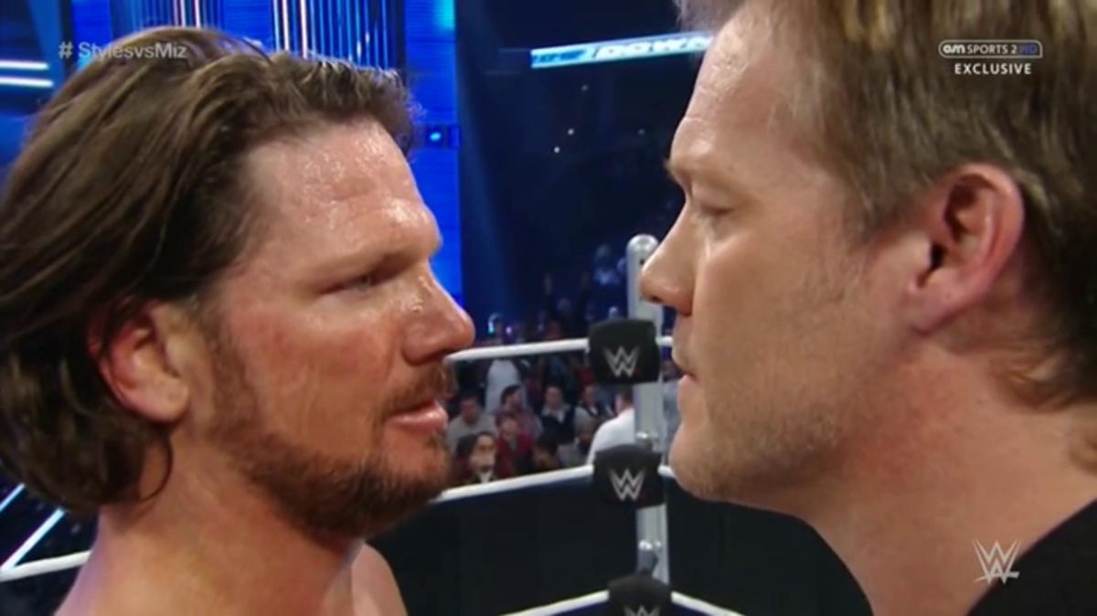 AJ Styles vs. Chris Jericho