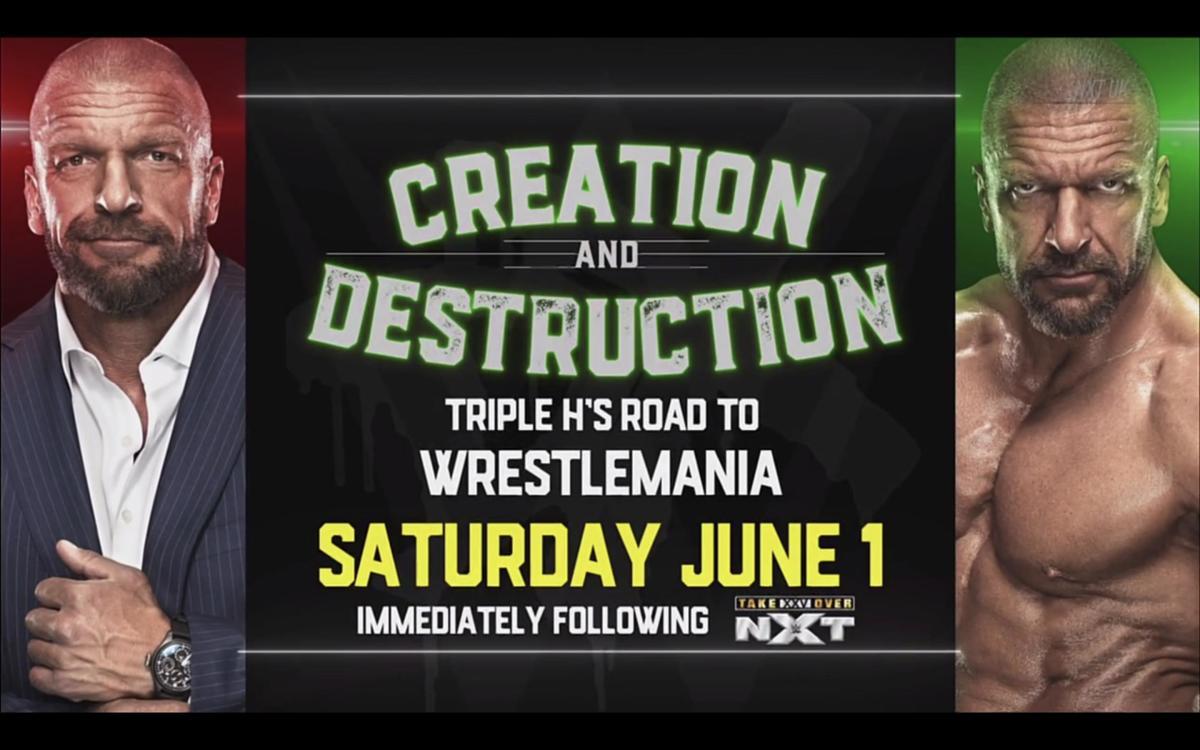 Watch WWE Triple Hs Road To Wrestlemania 6/1/19