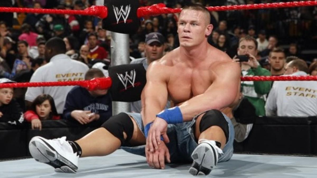 John Cena injury