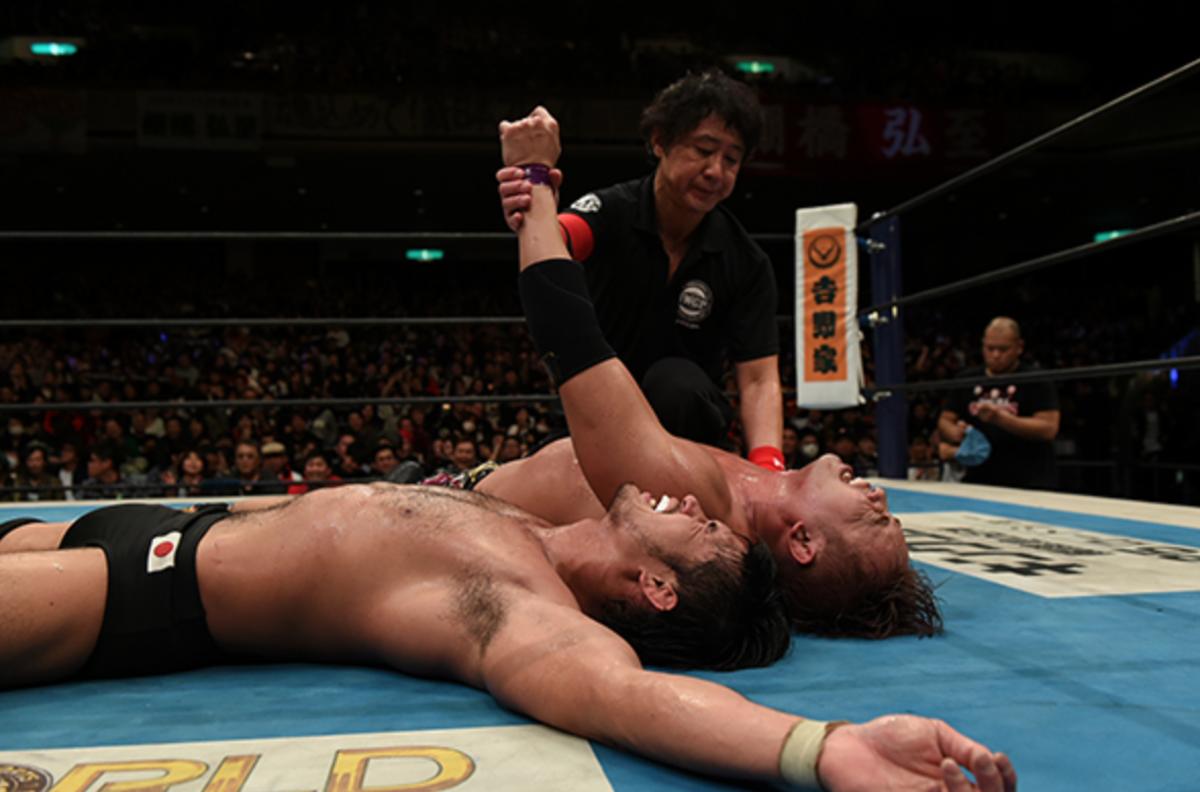 Okada vs. Shibata
