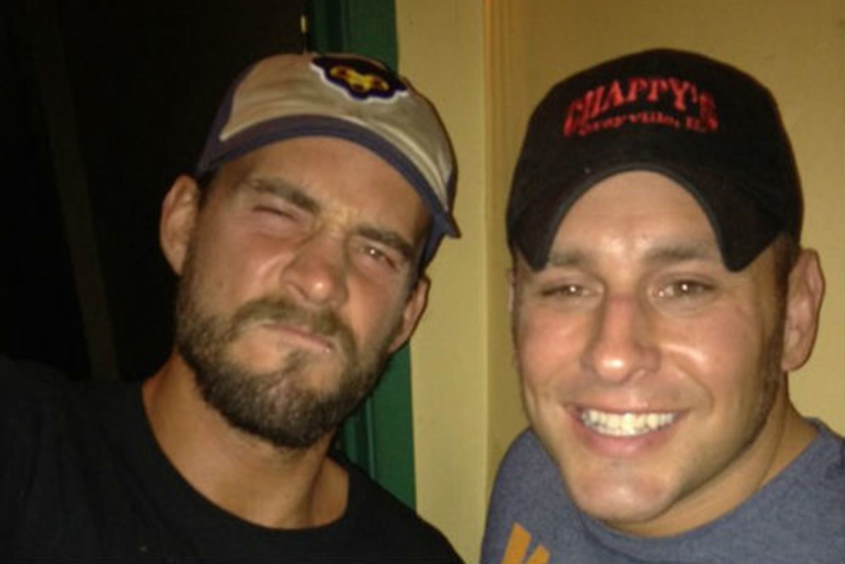 CM Punk and Colt Cabana