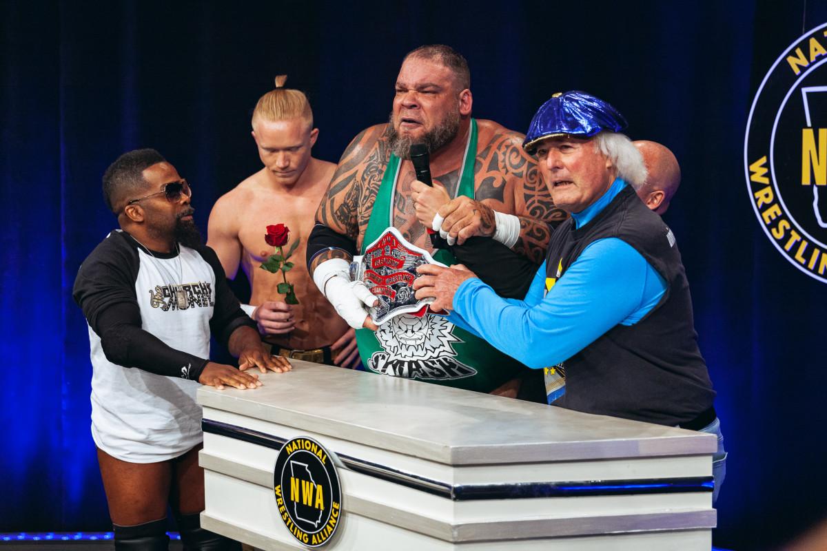 NWA Extra Power: Pope vs. Tyrus