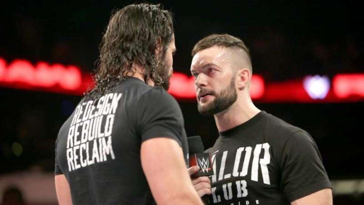 Seth Rollins vs. Finn Balor