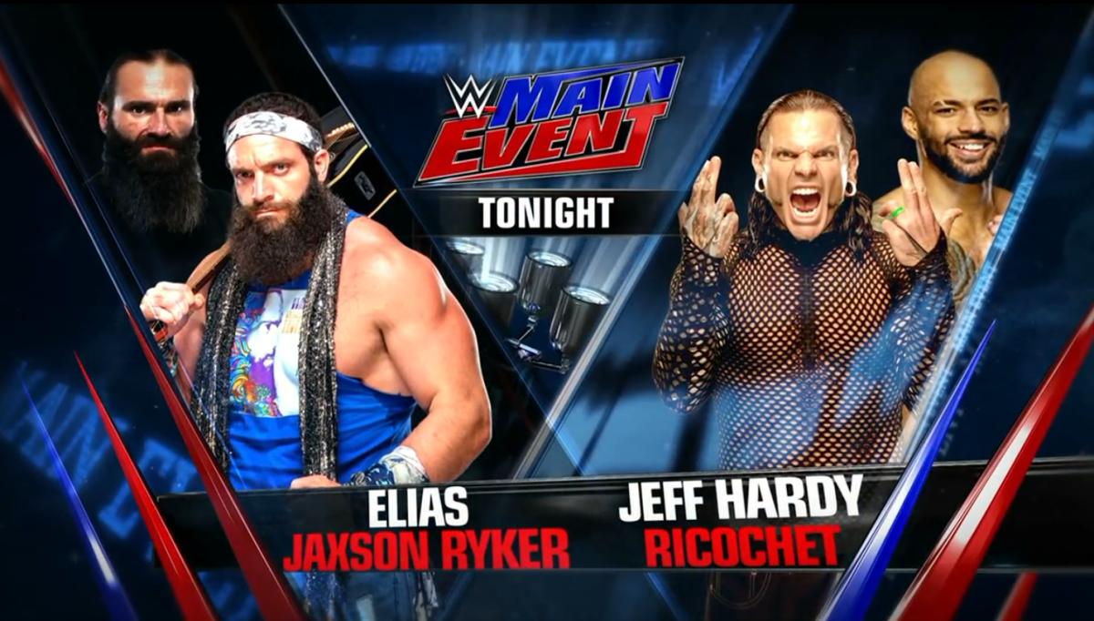 Jaxson Ryker & Elias vs. Jeff Hardy & Ricochet