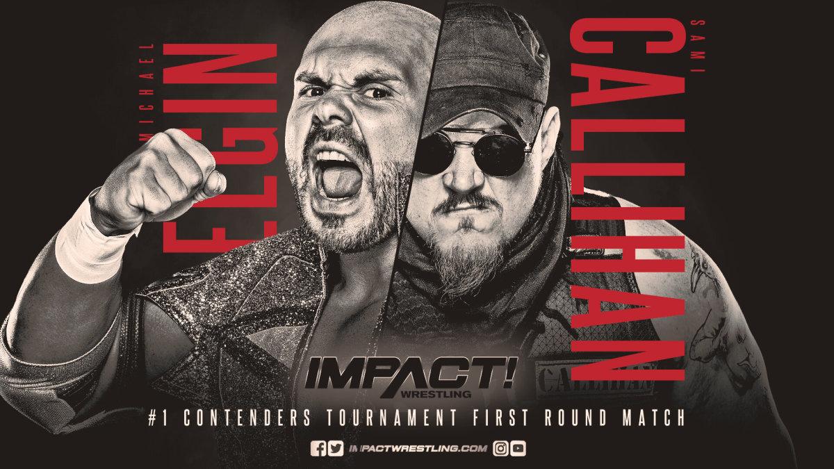 Impact Wrestling results: Michael Elgin vs Sami Callihan