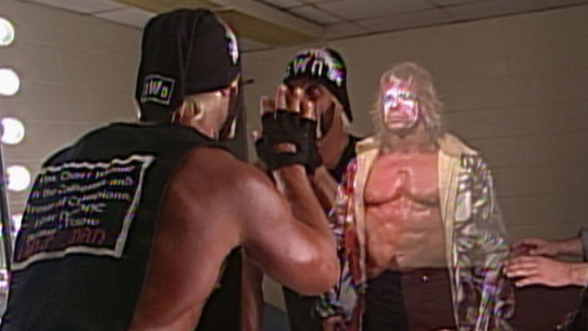 Daily Pro Wrestling History (10/25): Hogan vs. Warrior at WCW ...