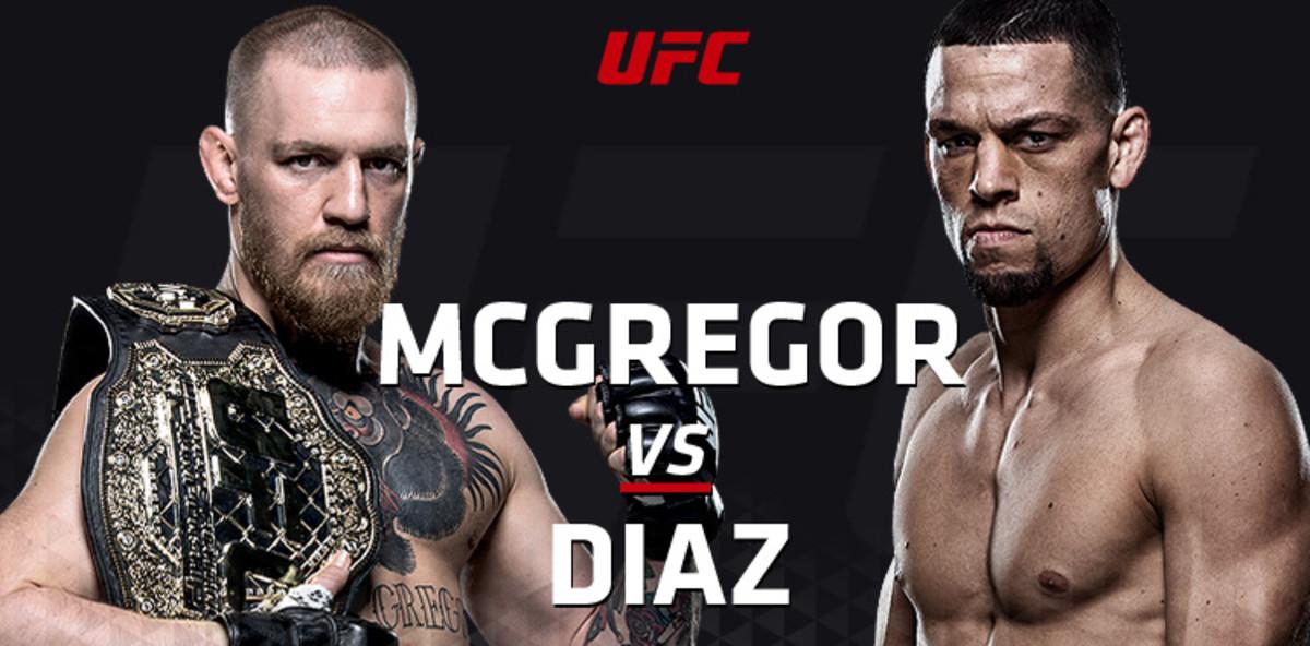 McGregor vs. Diaz and Holm vs. Tate
