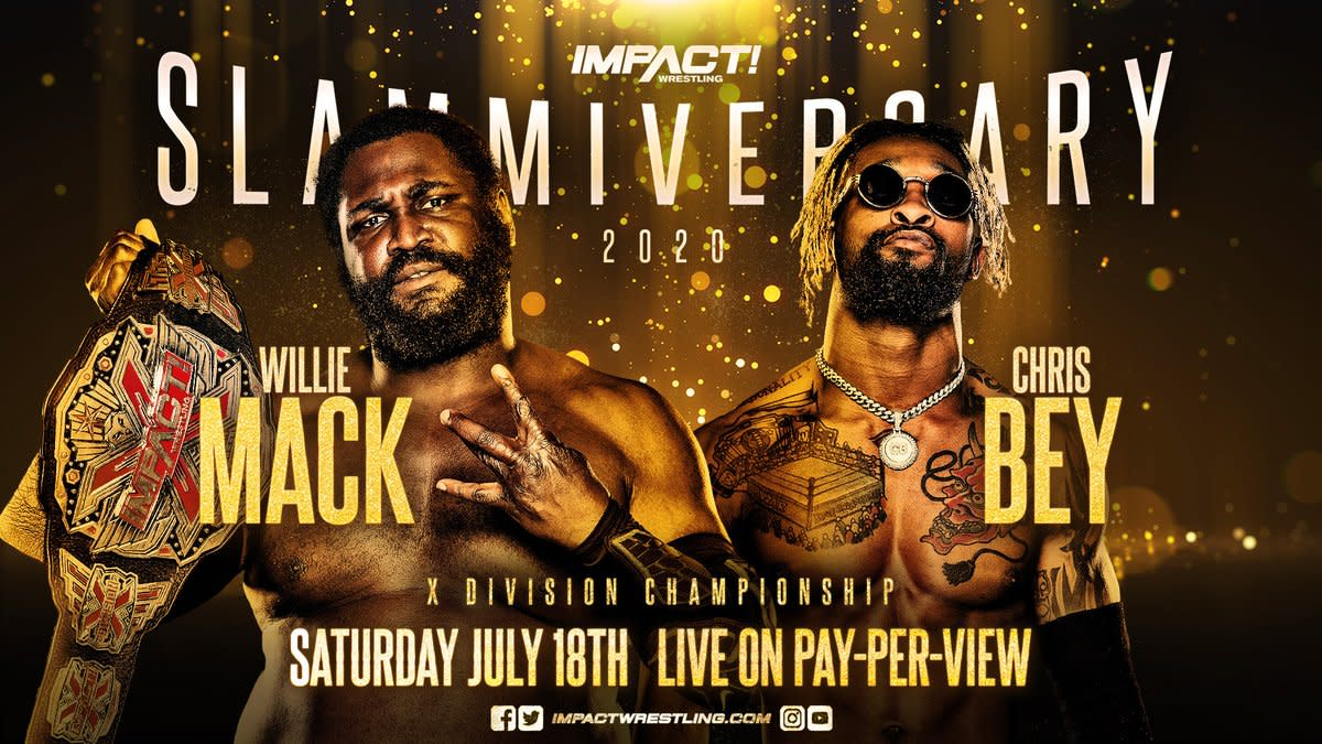 Willie Mack (Champion) vs Chris Bey