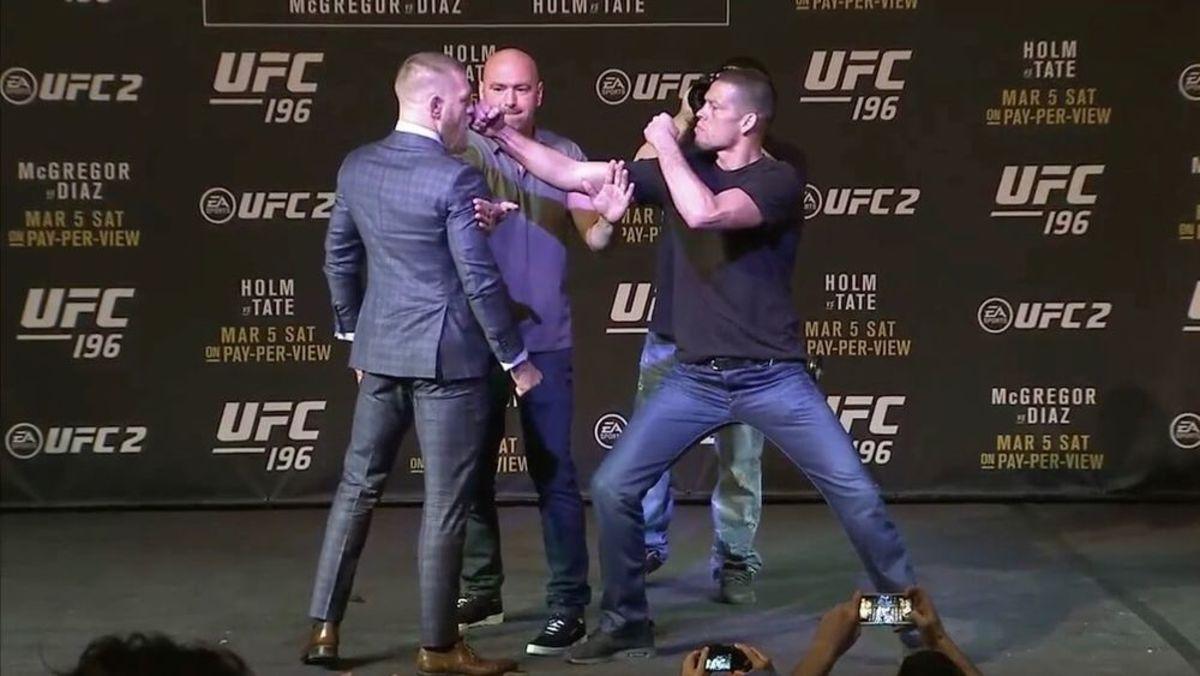 Diaz vs. McGregor
