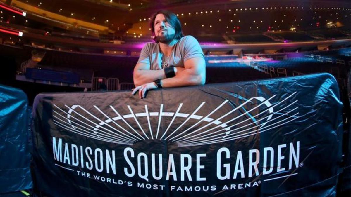 Wwe Msg Live Results Cena Vs Styles Ambrose Vs Rollins Vs Owens