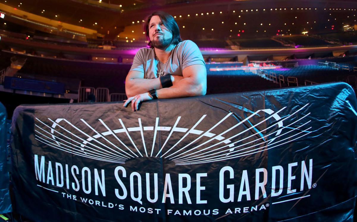 Wwe Madison Square Garden Live Results Styles Vs Cena Vs Ambrose