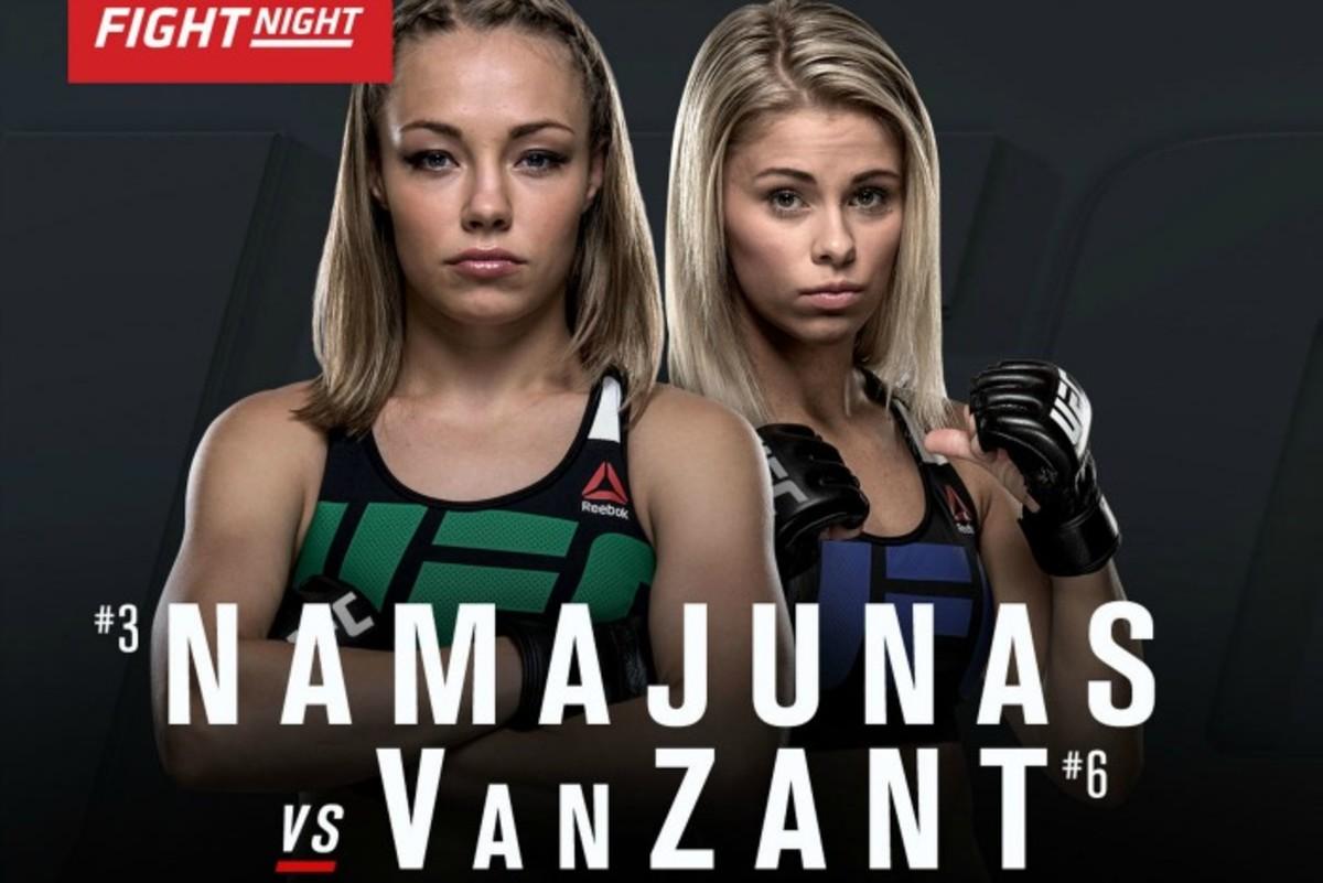 Rose Namajunas vs. Paige Van Zant