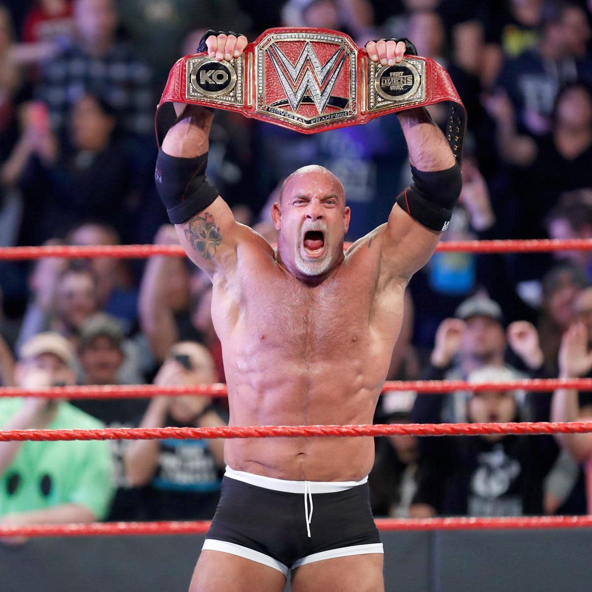 Daily Pro Wrestling History 03 05 Goldberg Wins Wwe