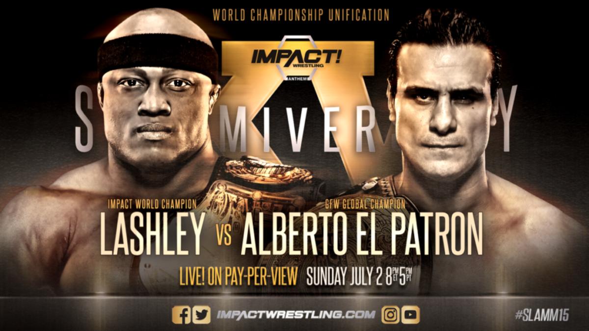 lashleyalberto Impact Wrestling revient sur pay per view ce soir avec un spectacle qui améliorera le renvoi de la société dans Global Force Wrestling.