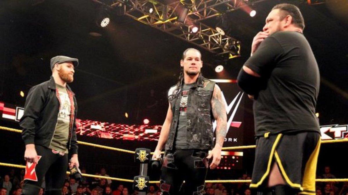 Sami Zayn vs. Baron Corbin vs. Samoa Joe