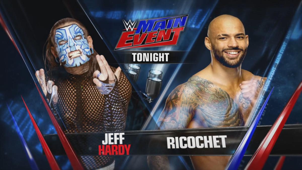 Jeff Hardy vs. Ricochet