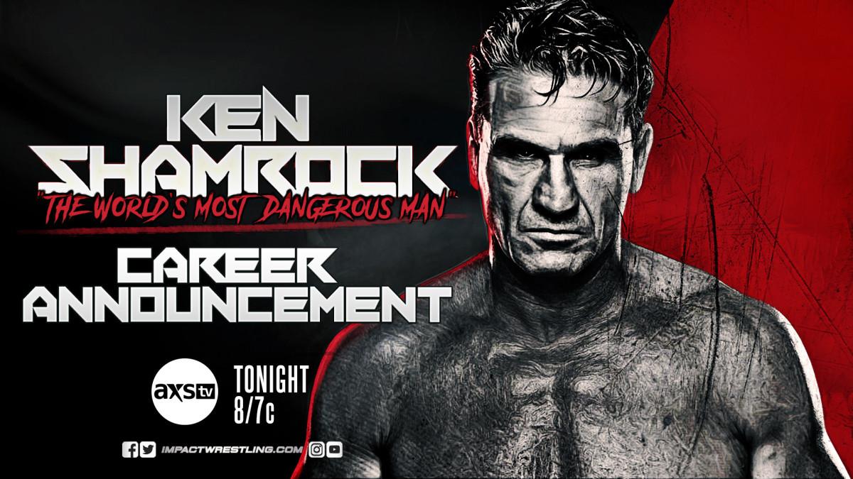 Impact Wrestling results: Ken Shamrock Returns, Chris Bey Debuts