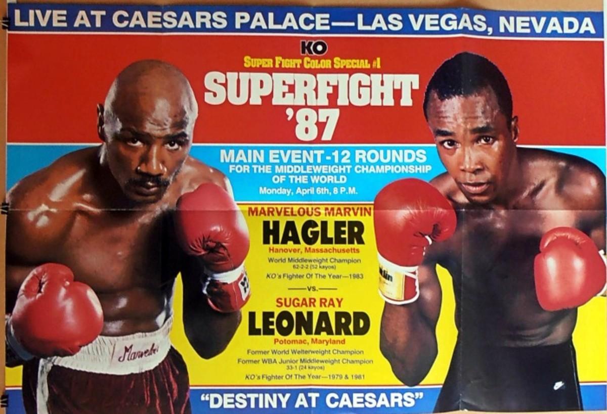 Hagler vs. Leonard