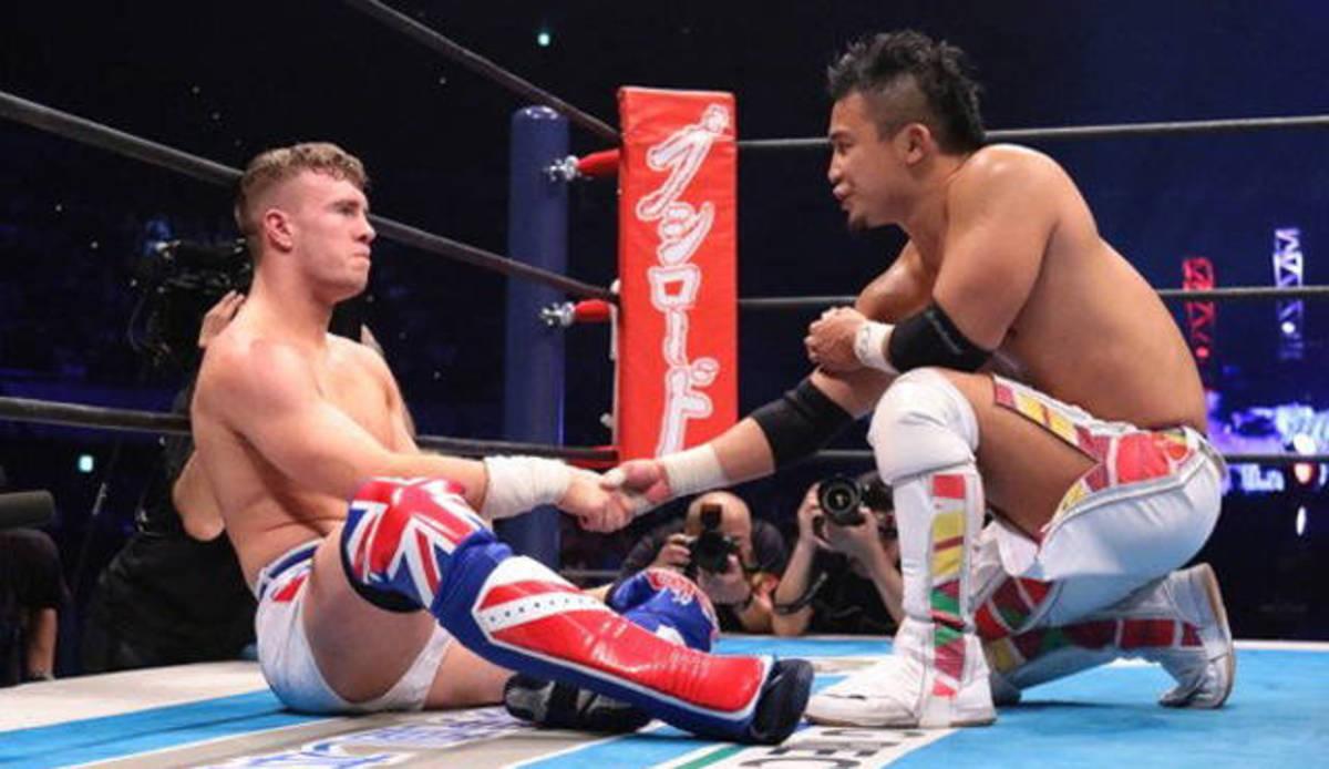 Will Ospreay vs Kushida