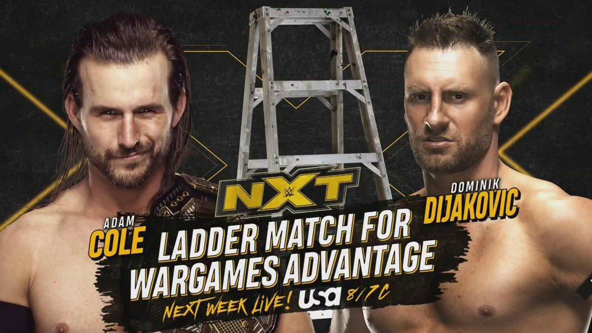 Adam Cole Vs Dominik Dijakovic Ladder Match Announced For Nxt
