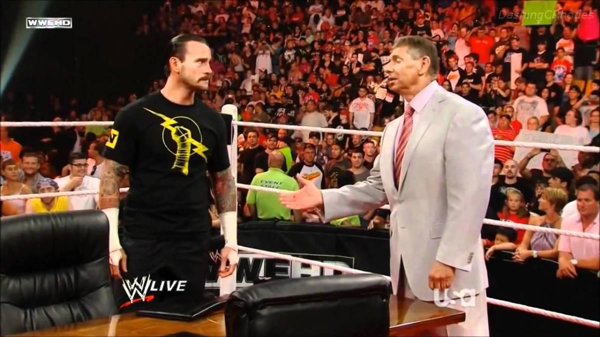 Punk vs. Vince