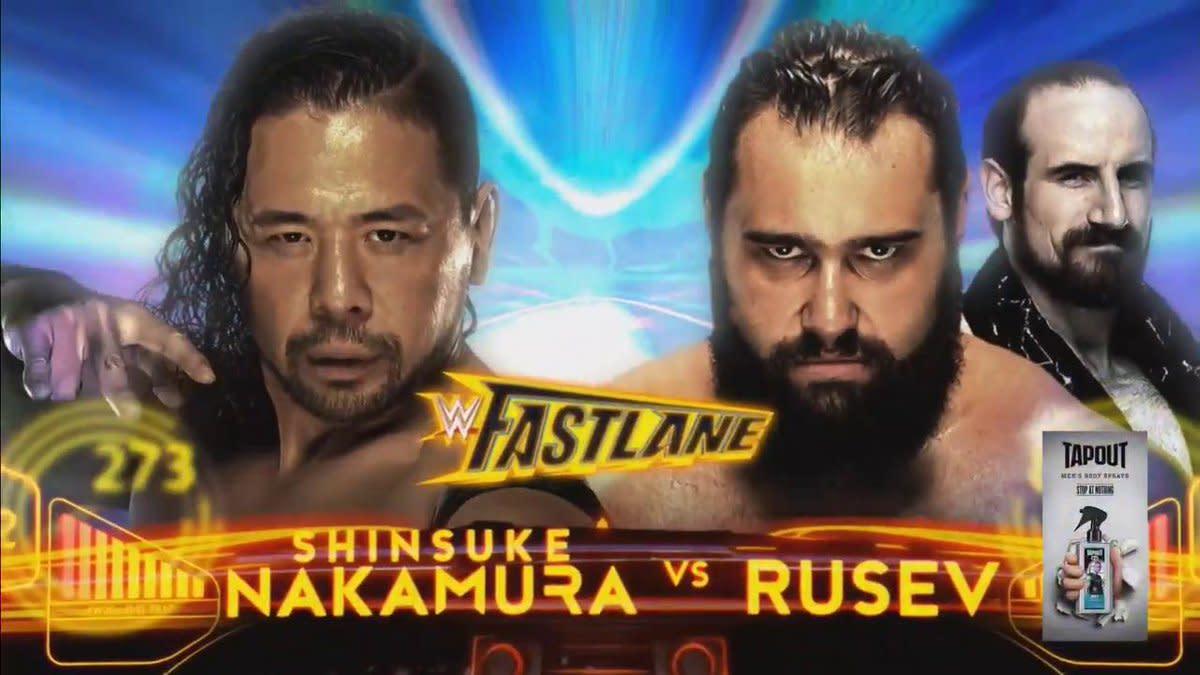 Nakamura vs. Rusev, women\'s tag match set for WWE Fastlane